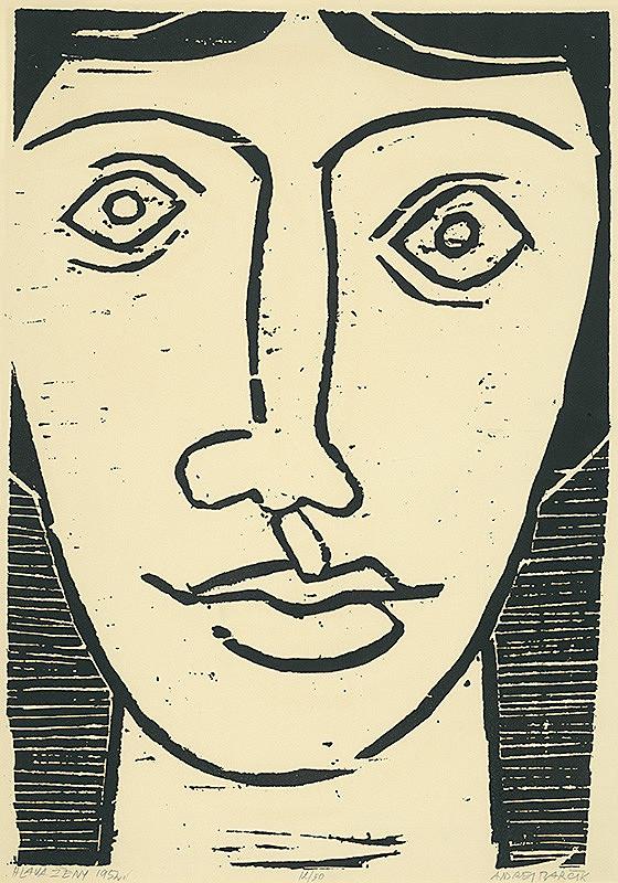 Andrej Barčík – Hlava ženy