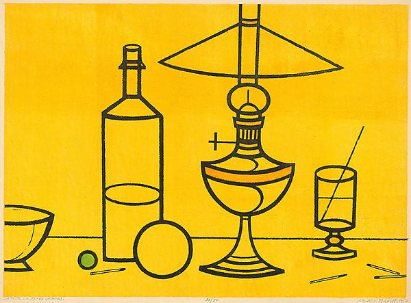 Andrej Barčík – Zátišie so žltou lampou