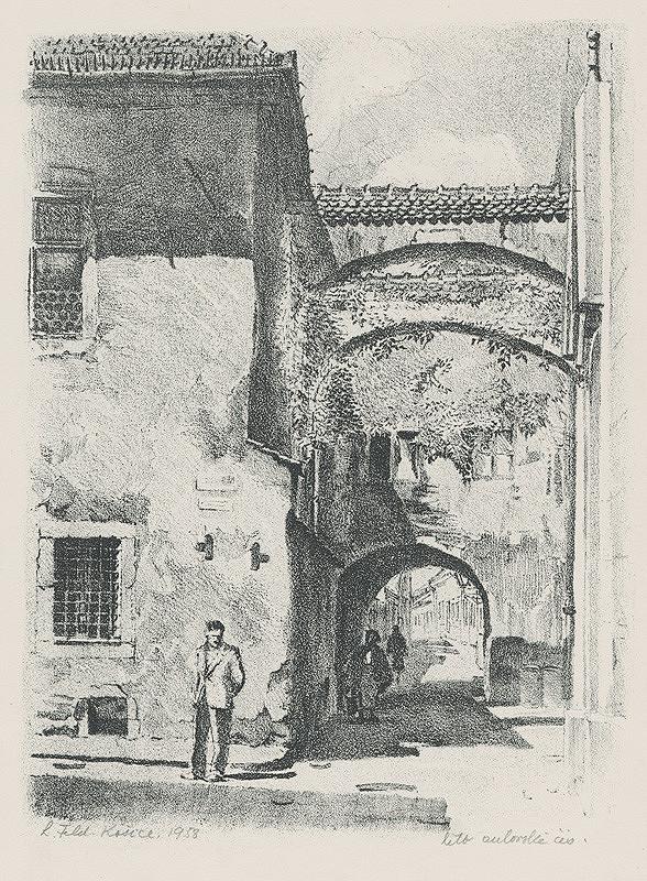 Ľudovít Feld - Miklušova väznica a Hrnčiarska ulica