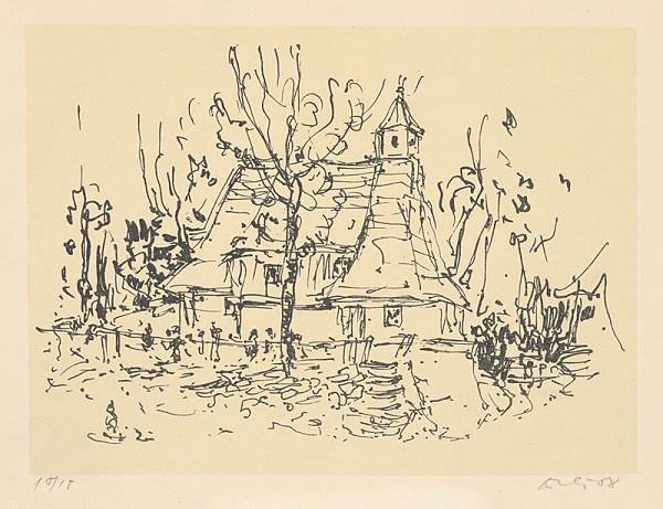 Andrej Doboš – Drevený kostol