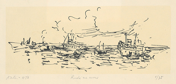 Andrej Doboš – Lode na mori