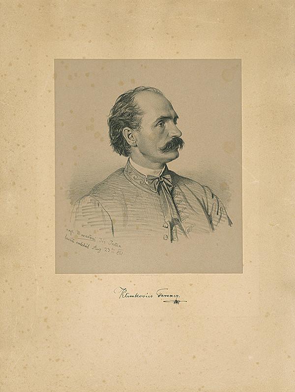 Giuseppe Marastoni – Portrét Františka Klimkoviča