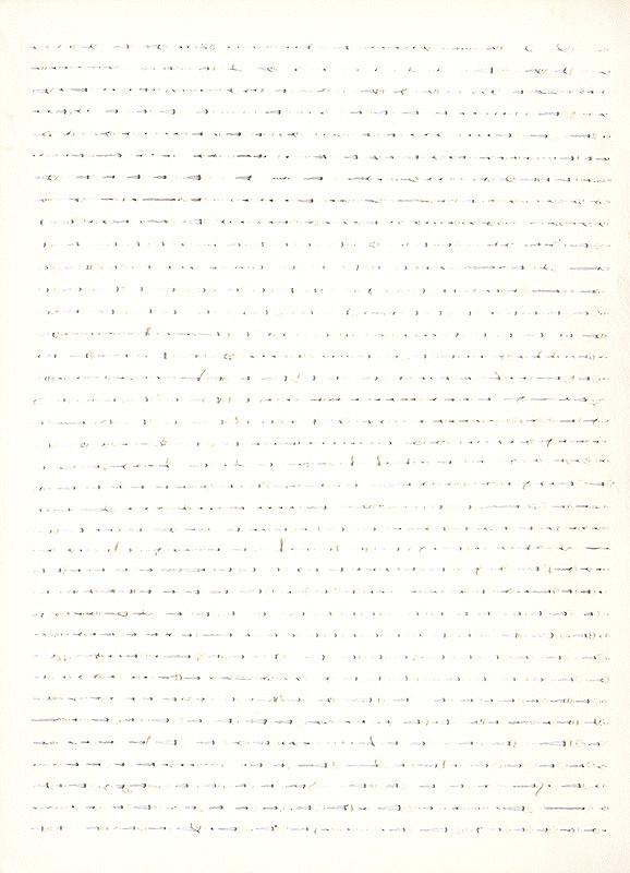Peter Kalmus – Báseň - partitúra I.