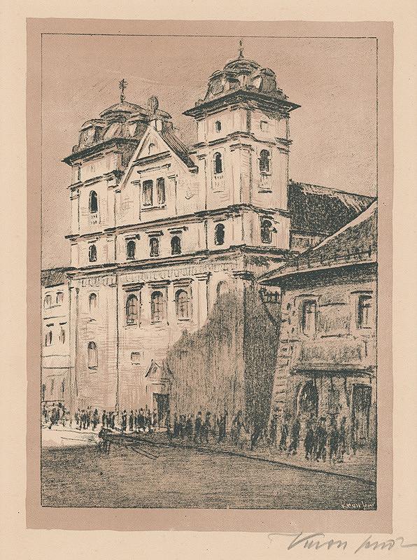 Eugen Krón – Premonštrátsky kostol (bývalý Jezuitský kostol)