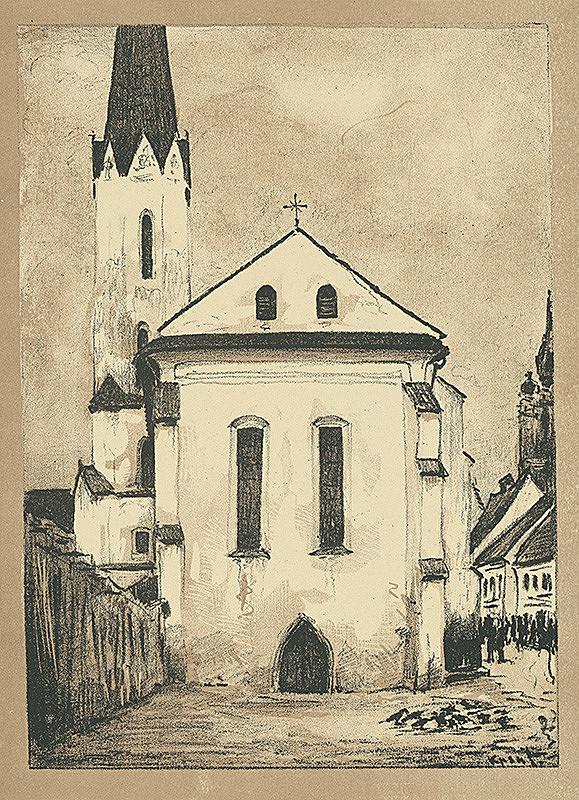 Eugen Krón – Dominikánsky kostol
