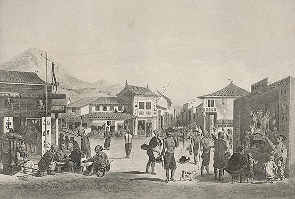 Emanuel Andrássy – Hong-Kong (Motív z cesty po východnej Indii V.)