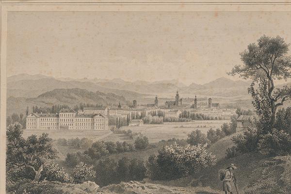Ludwig Rohbock – Pohľad na Košice (od severozápadu)