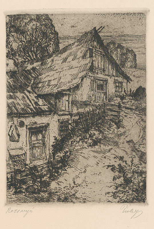 Koloman Tichy – Záber z periférie Rožňavy