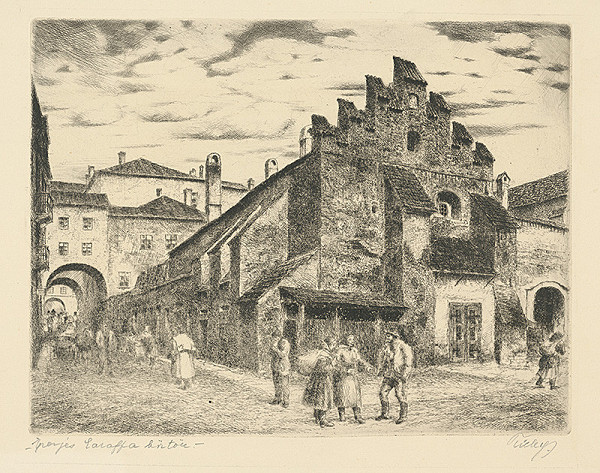Koloman Tichy - Karaffova väznica v Prešove