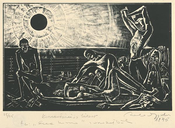 Július Szabó – Koncentračný tábor