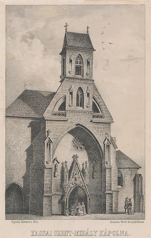 Vojtech Klimkovič – Kaplnka sv. Michala v Košiciach
