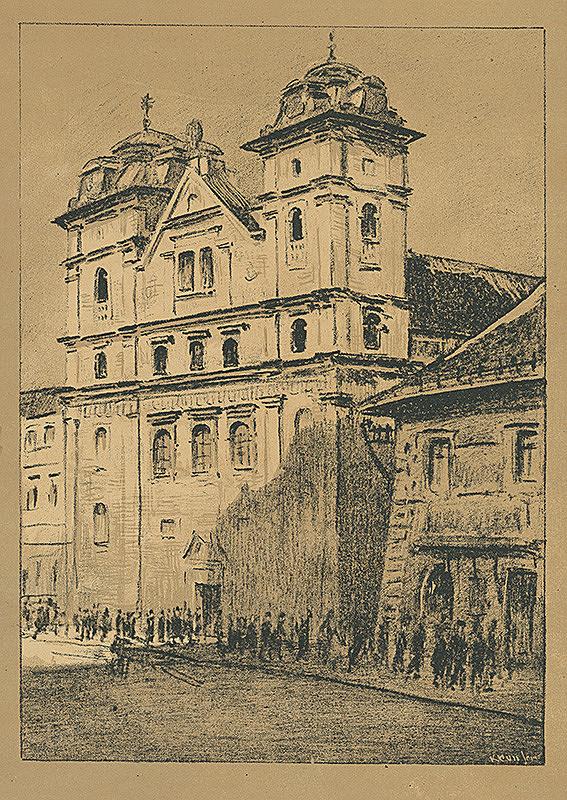 Eugen Krón - Premonštrátsky kostol-bývalý Jezuitský kostol