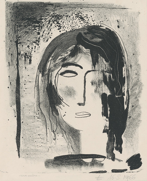 Alexander Eckerdt – Hlava dievčaťa