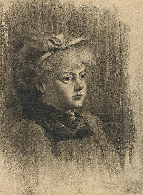 Július Éder - Podobizeň dievčaťa