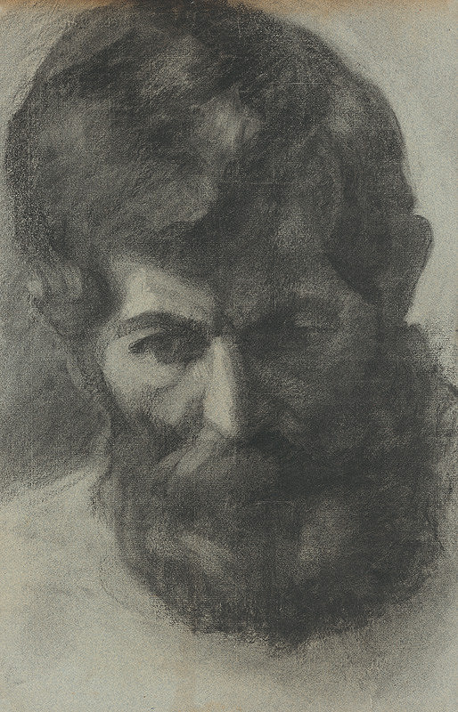 Stredoeurópsky maliar z 1. polovice 20. storočia – Podobizeň muža