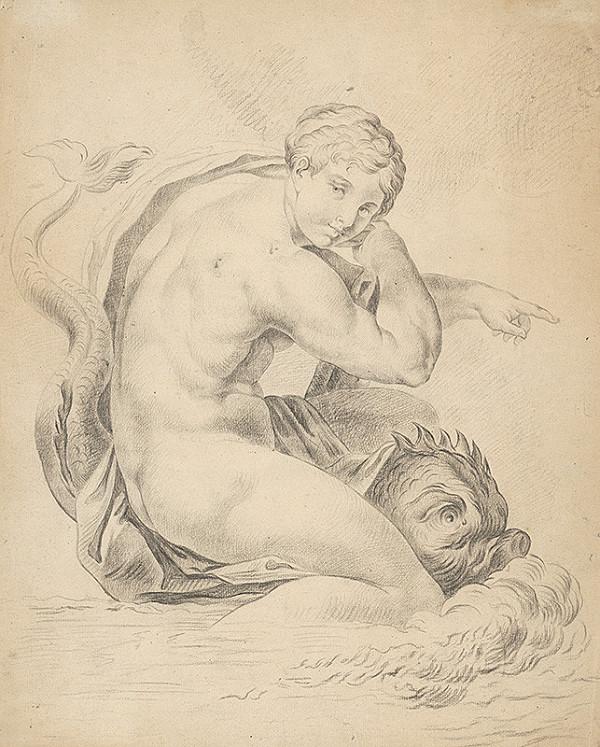 Gyula Benczúr – Žena s delfínom