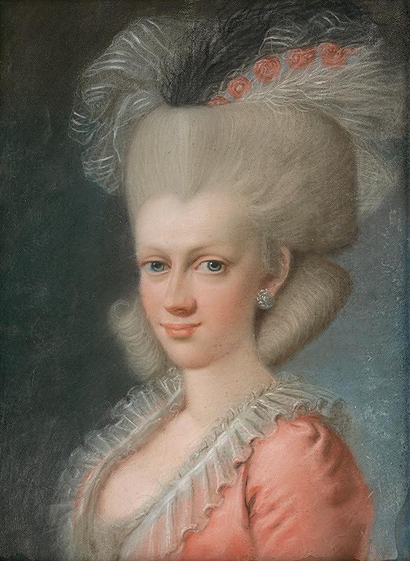 Jozef Fridrich Wagner – Dáma s parochňou