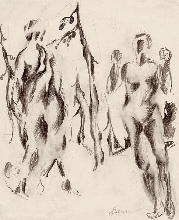 Konštantín Bauer – Štúdia aktov