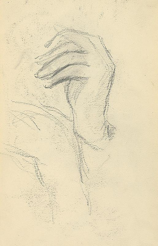 Andor Borúth - Štúdia ľavej ruky