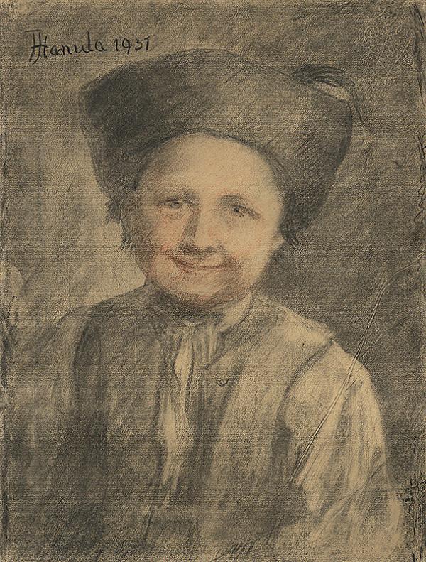 Jozef Hanula - Štúdia sedliackeho chlapca