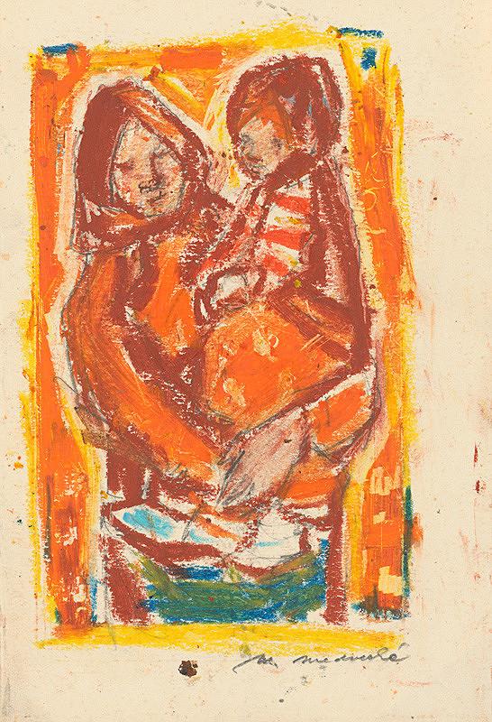Mária Medvecká - Matka s dieťaťom