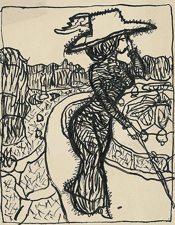 Konštantín Kövári-Kačmarik – Karikatúra dámy