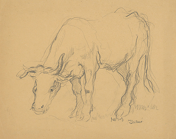 Július Jakoby – Krava I.