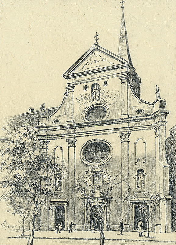 Vojtech Šipoš - Františkánsky kostol v Košiciach
