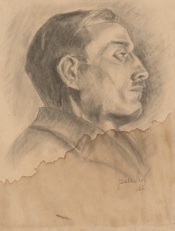 Ivan Anton Székely - Podobizeň staršieho muža