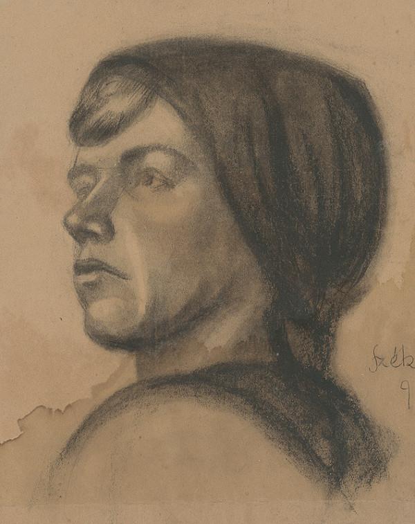 Ivan Anton Székely - Podobizeň mladej ženy