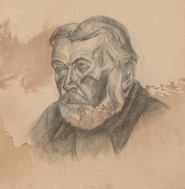 Ivan Anton Székely – Podobizeň starca s bradou