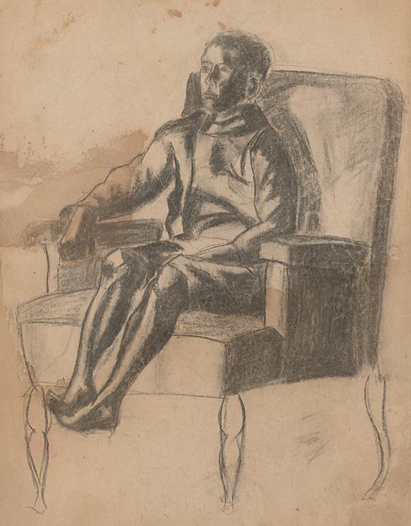 Ivan Anton Székely – Chlapec v kresle