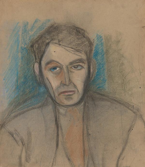 Slovenský maliar z 1. polovice 20. storočia - Podobizeň muža