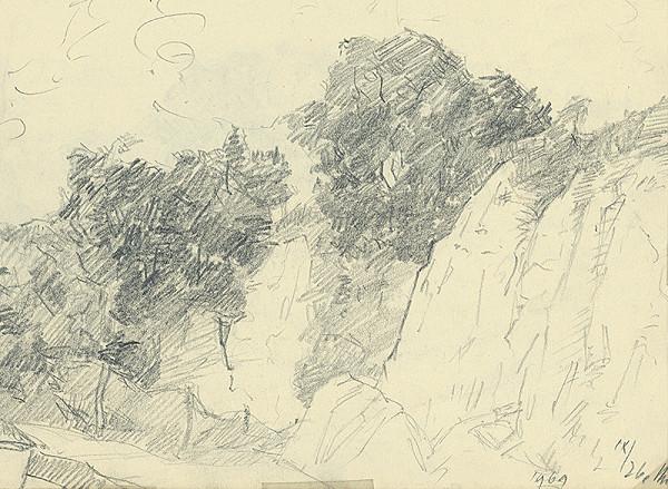 Ernest Rákosi – Stromy na svahu