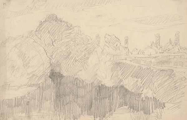 Ernest Rákosi – Stromy pri rieke