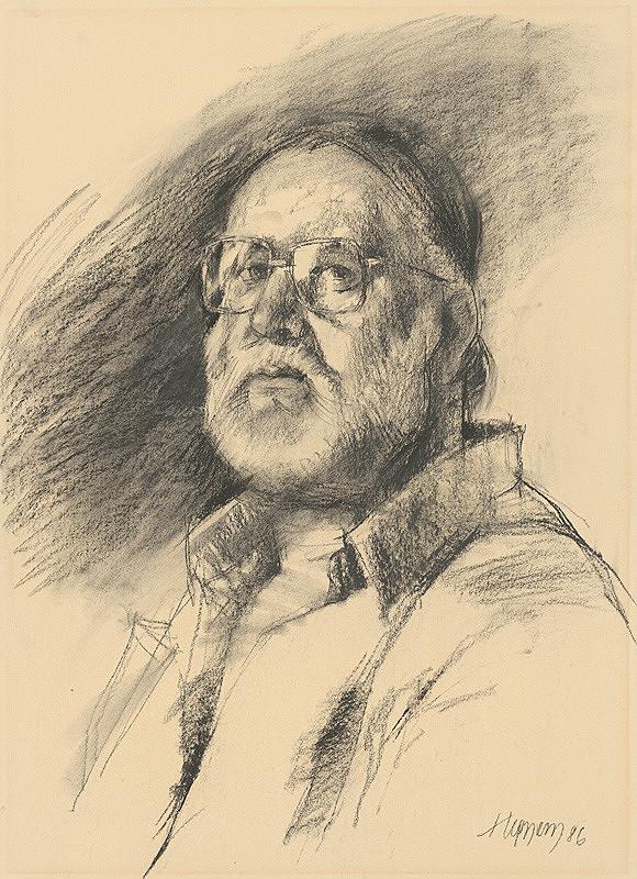Július Hegyesy – Autoportrét II