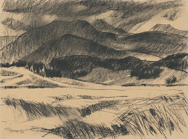 Július Hegyesy – Krajina pri Mošovciach