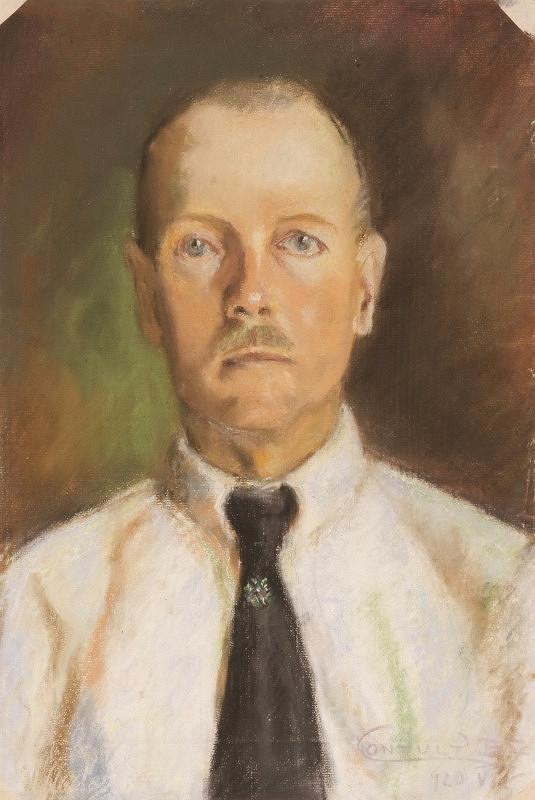 Béla Nemessányi Kontuly - Portrét Zsigmonda Hantaya