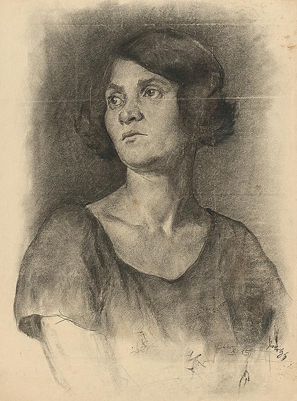 Július Jakoby – Štúdia ženy