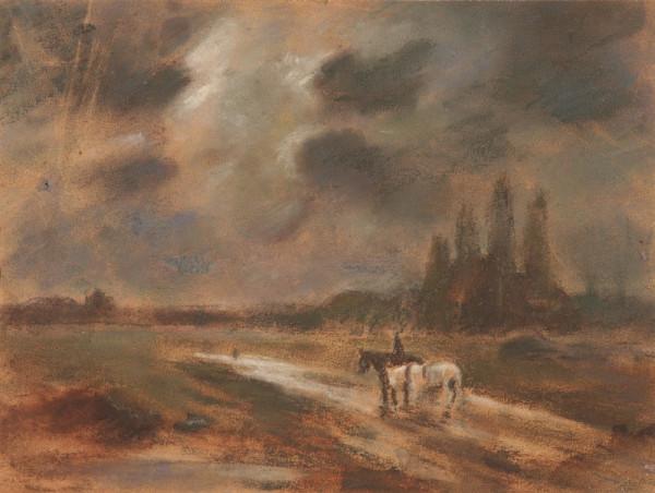 Štefan Fodor - Kone na poľnej ceste