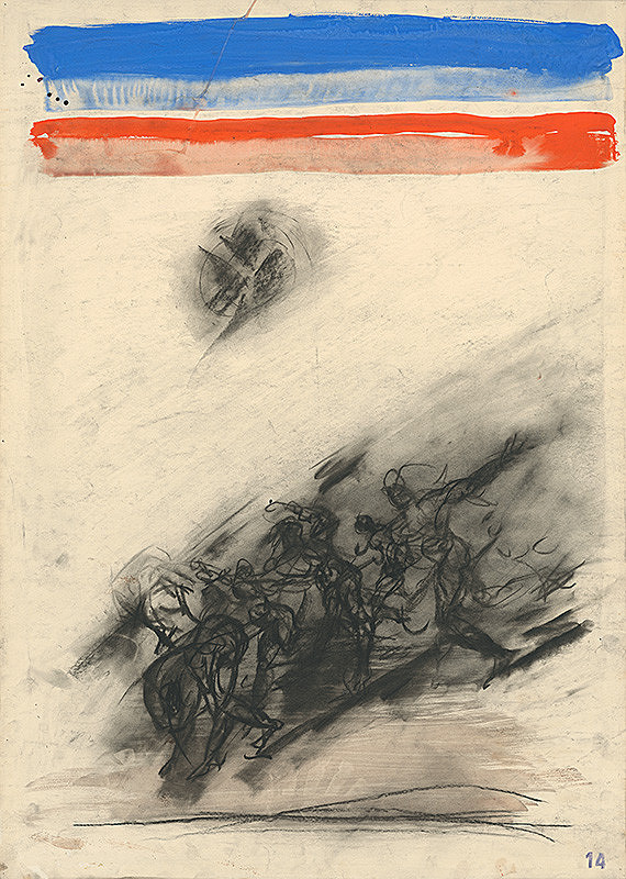 Jozef Kornúcik – Kresba č. 14