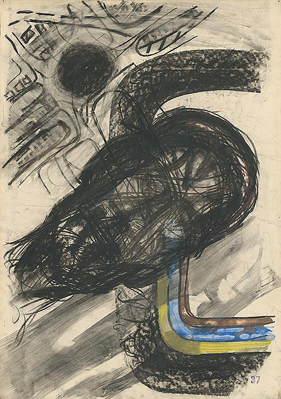 Jozef Kornúcik - Kresba č. 37