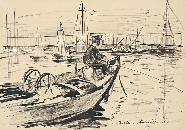 Matilda Čechová – Rybár v Anziu