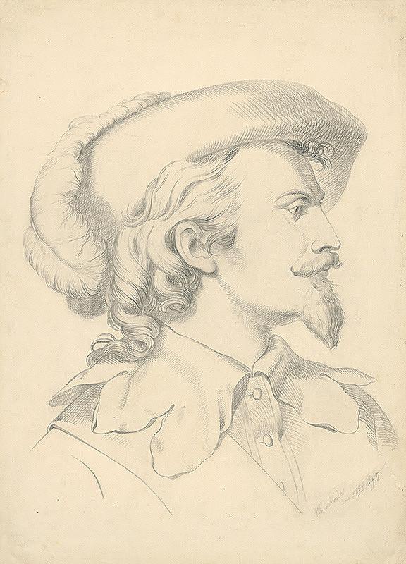 Vojtech Klimkovič – Hlava muža s briadkou