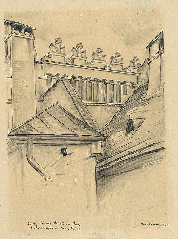 Eugen Krón - Zadná fasáda domu č. 86 na Masarykovej ulici v Prešove