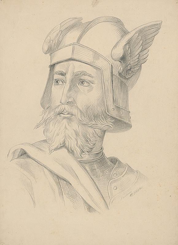 František Klimkovič - Hlava vojaka