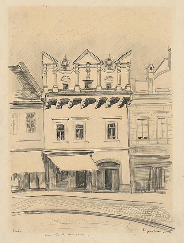 Eugen Krón – Dom č. 46 na Masarykovej ulici v Prešove