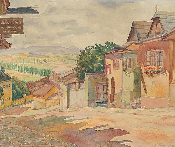 Milan Florián – Ulička v Levoči