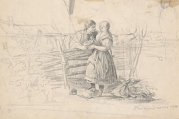 Vojtech Klimkovič – Pri plote s milým