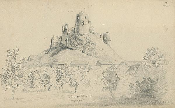 František Klimkovič – Zrúcaniny hradu Somoskö pri Fiľakove